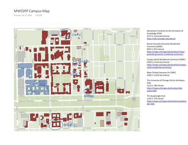 MWSSPP Campus Map